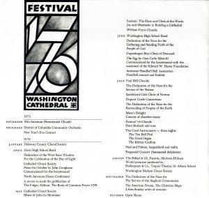 Festival 76 Full Program
