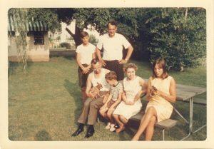 Family at Freeport, Summer 1966