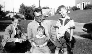 Wayne with Rick, Laura & Geoff