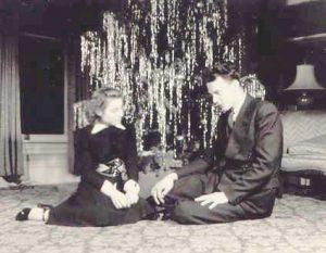 Wayne & Jo Xmas 1941
